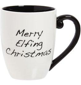 Evergreen Enterprises 'Merry Elfing Christmas' Coffee Cup