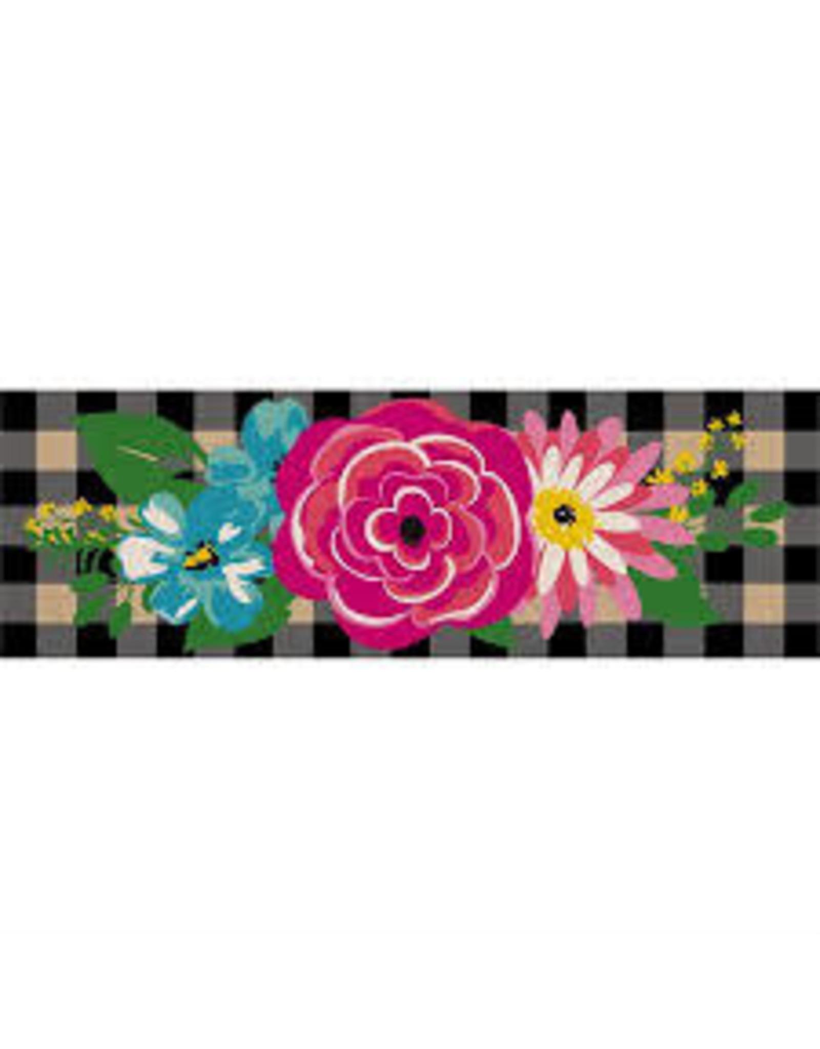 Evergreen Enterprises Floral Plaid Kensington Switch Mat