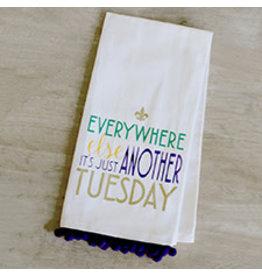 The Royal Standard Tuesday Flour Sack Hand Towel