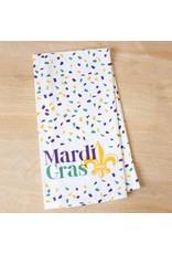 The Royal Standard Mardi Gras Confetti Hand Towel