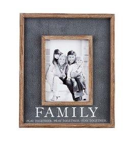 Mudpie Family Frame/Black