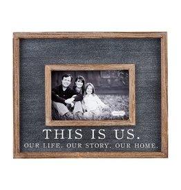 Mudpie This Is Us Frame/Black 4x6