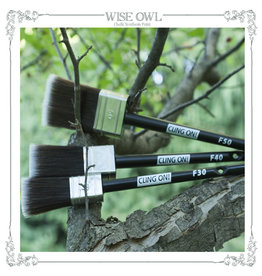 Wise Owl Paint Cling On! Small Flat Brush (F30)