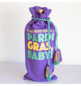 The Royal Standard Pardi Gras Wine Bag