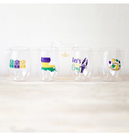 The Royal Standard Streetcar To Go Wine Glasses (set of 4)