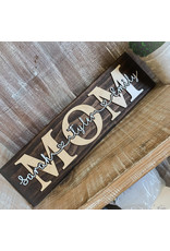 Miche Designs Custom MOM Sign with Names