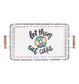 Glory Haus Let Them Eat Cake Enamel Tray