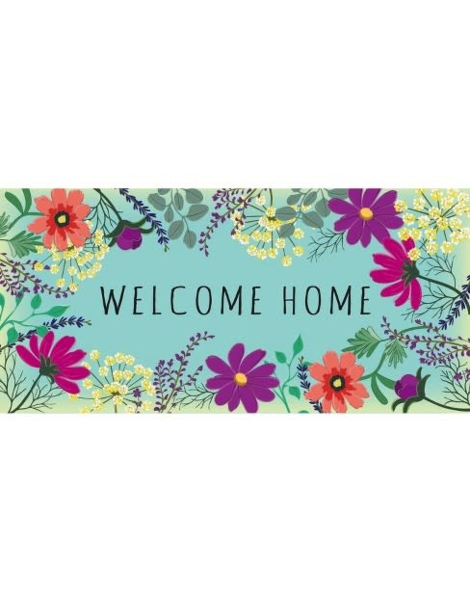 Evergreen Enterprises Wild Flowers Welcome Sassafras Switch Mat