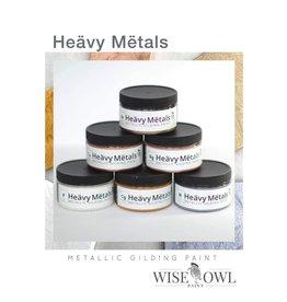 Wise Owl Paint Heavy Metals 6 Metallic Gilding Paint-4oz
