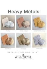 Wise Owl Paint Heavy Metals Metallic Gilding Paint-4oz