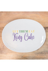 The Royal Standard Let Them Eat King Cake Platter