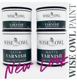 Wise Owl Paint Satin Varnish - Qt