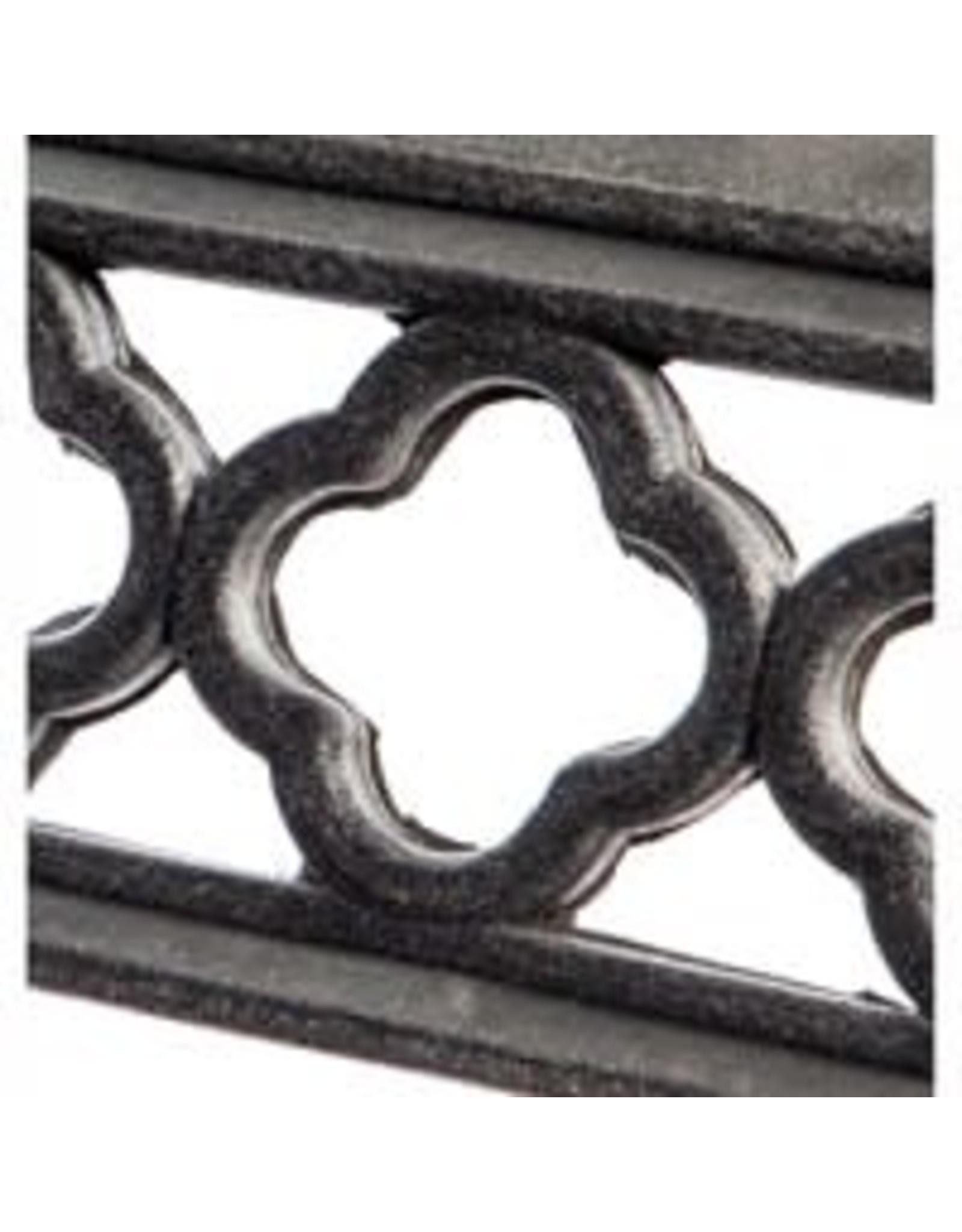 Evergreen Enterprises Flocked Quatrefoil Kensington Switch Mat Tray