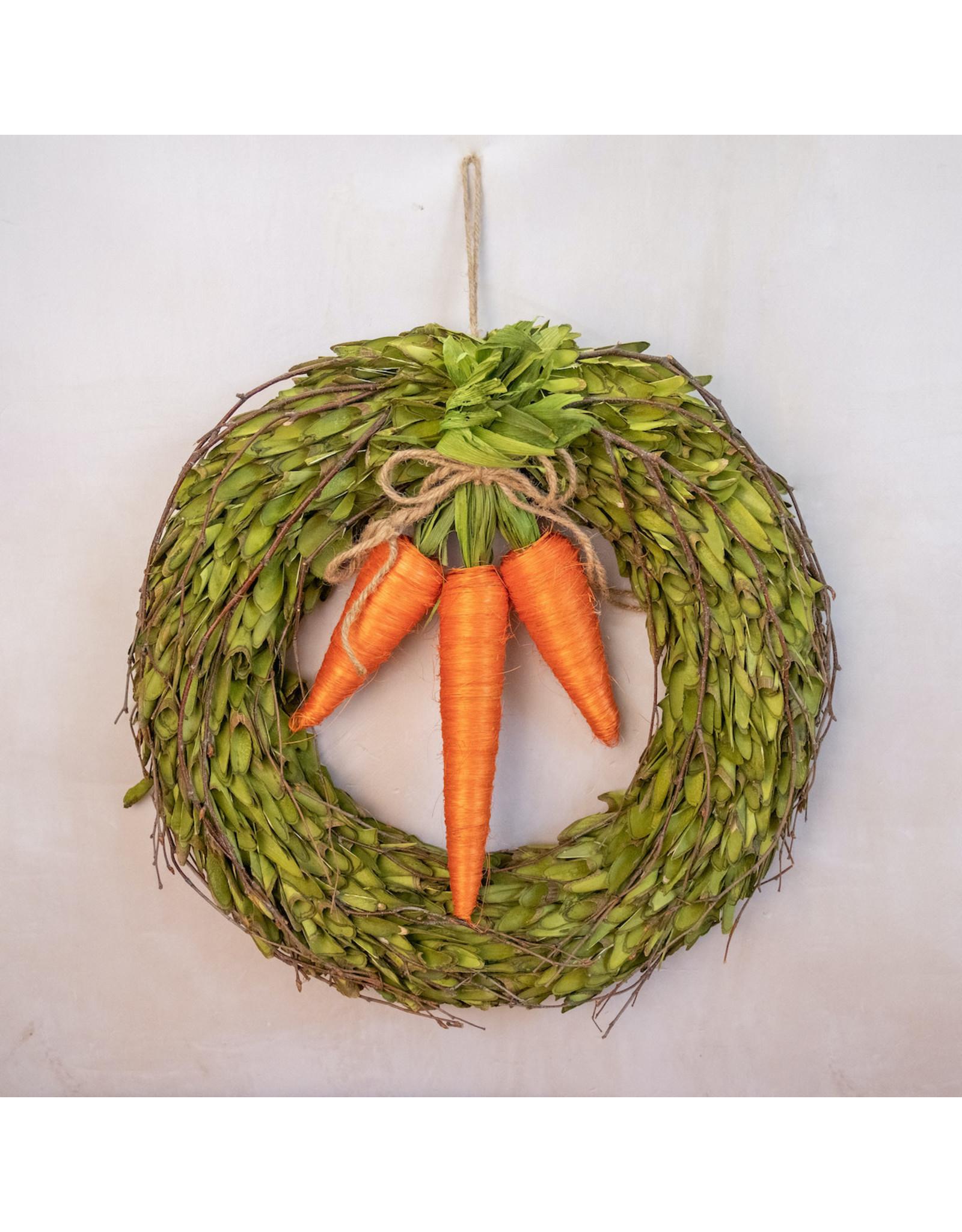 The Royal Standard Bakersfield Carrot Wreath
