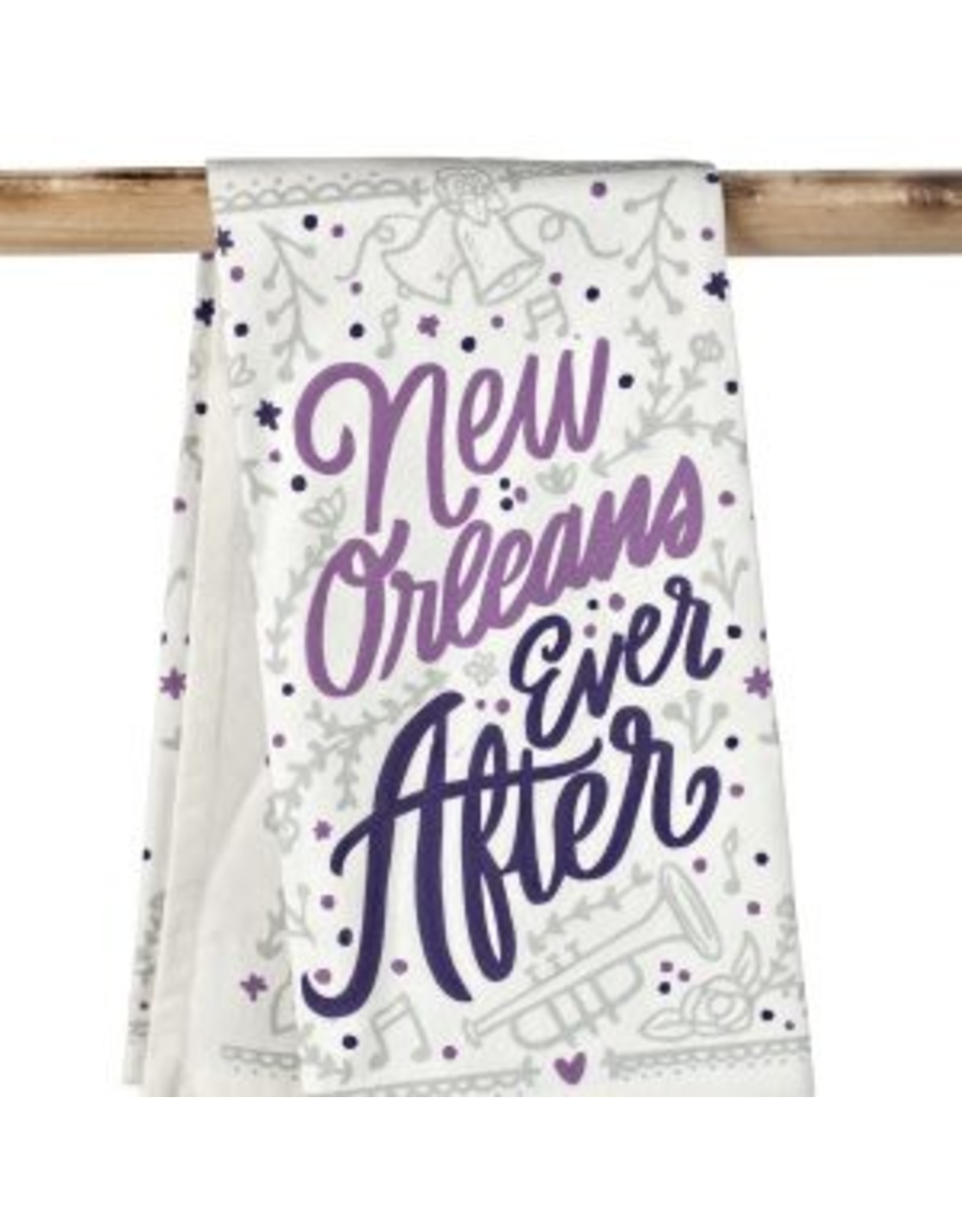 The Parish Line New Orleans Ever After-Kitchen Towel