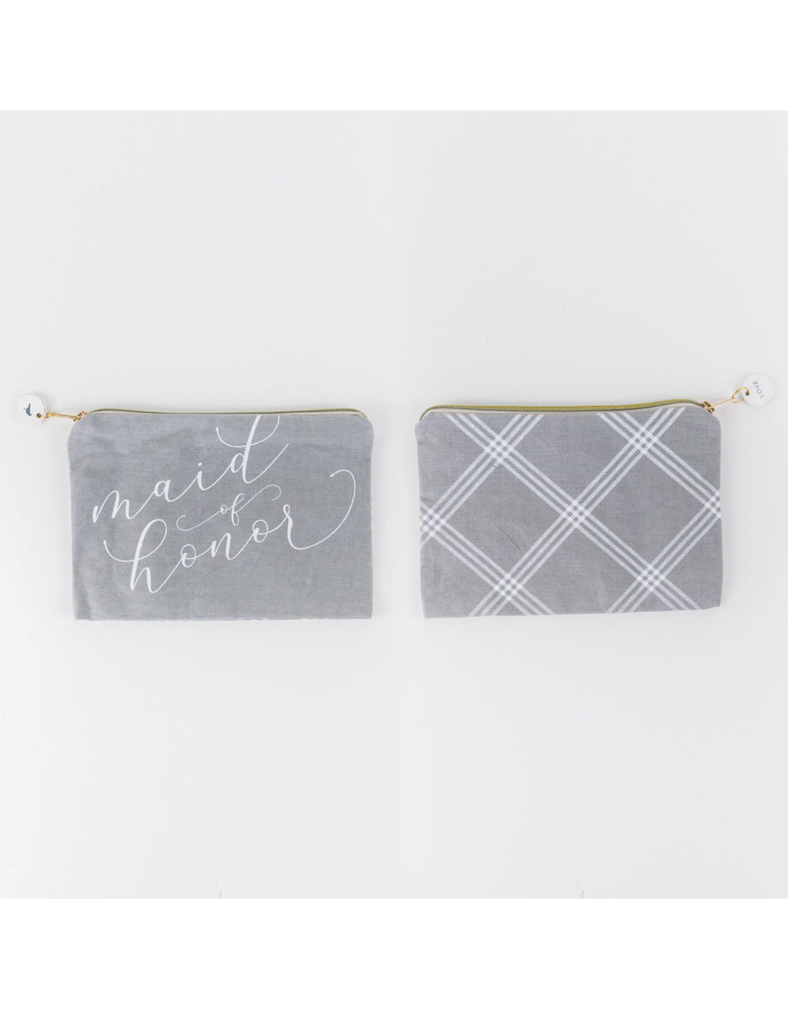Adams & Co. Canvas Bag (MD HNR) gy/wh