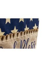 Evergreen Enterprises God Bless this Porch Garden Burlap Flag