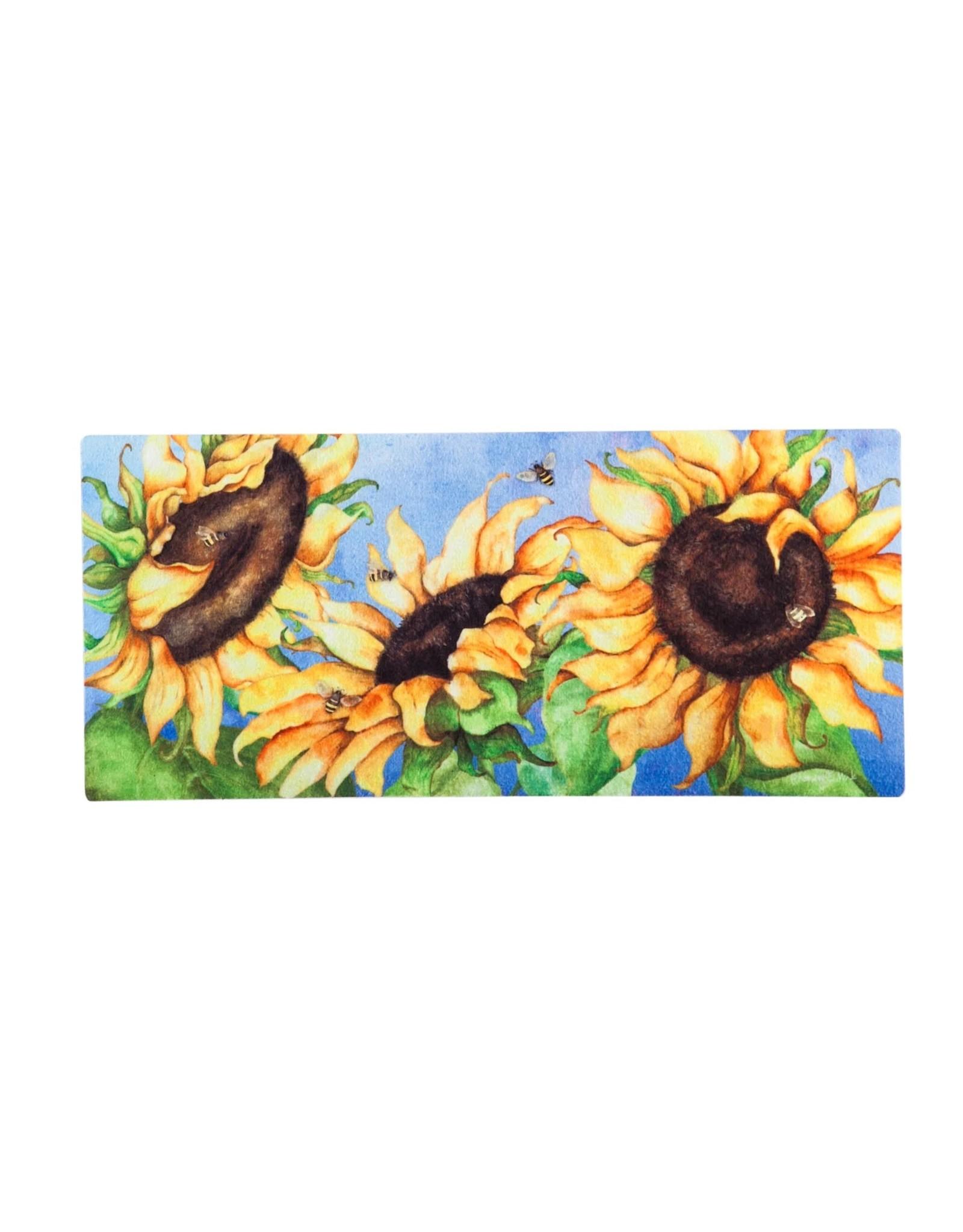 Evergreen Enterprises Hello Honey Sunflowers Sassafras Switch Mat