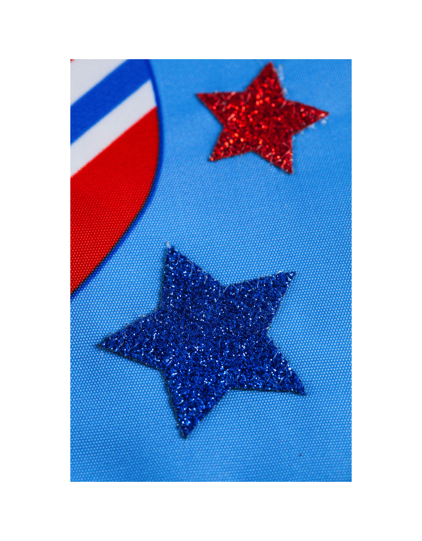 Evergreen Enterprises Patriotic Flip Flops Garden Applique Flag