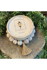 Southern Lights Round Rustic Bead Bowl-Coco Cashmere 16-18oz