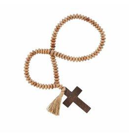 Mudpie Cross Beaded Tassel Decor Beads-3A