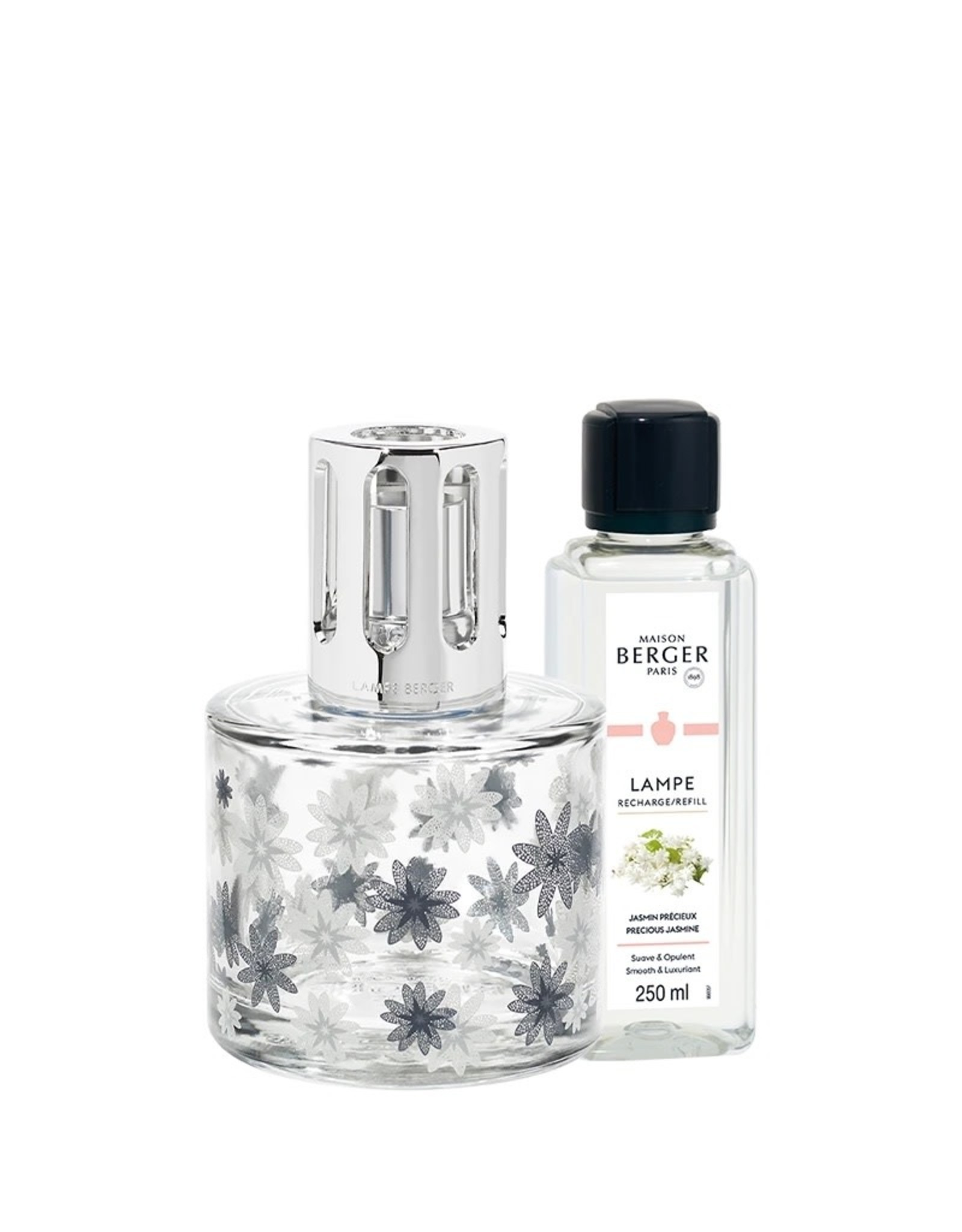 Lamp Berger Pure Floral Lamp Gift Set with Precious Jasmine