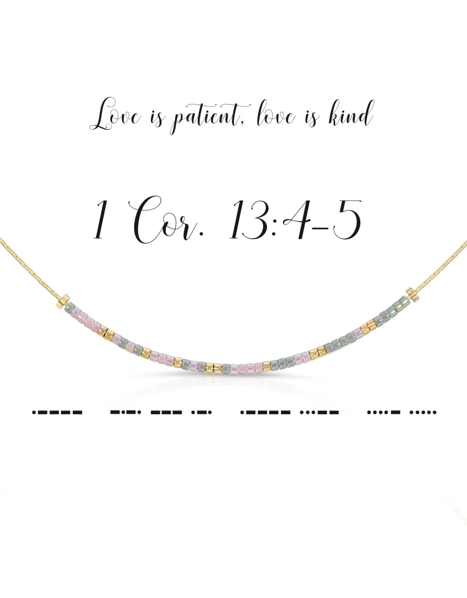 Dot And Dash Designs 1 Cor. 13:4-5 Necklace