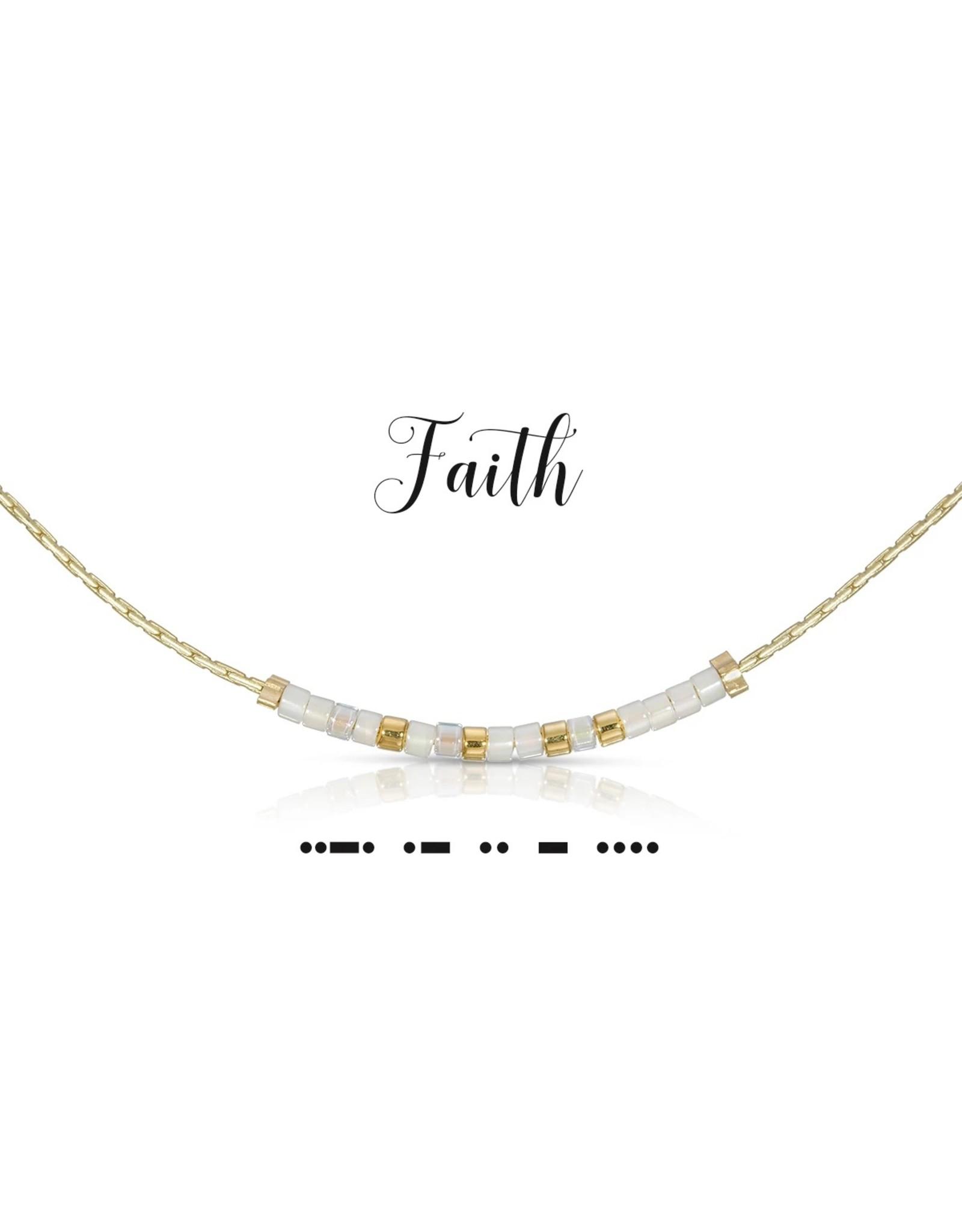 Dot And Dash Designs Faith Necklace