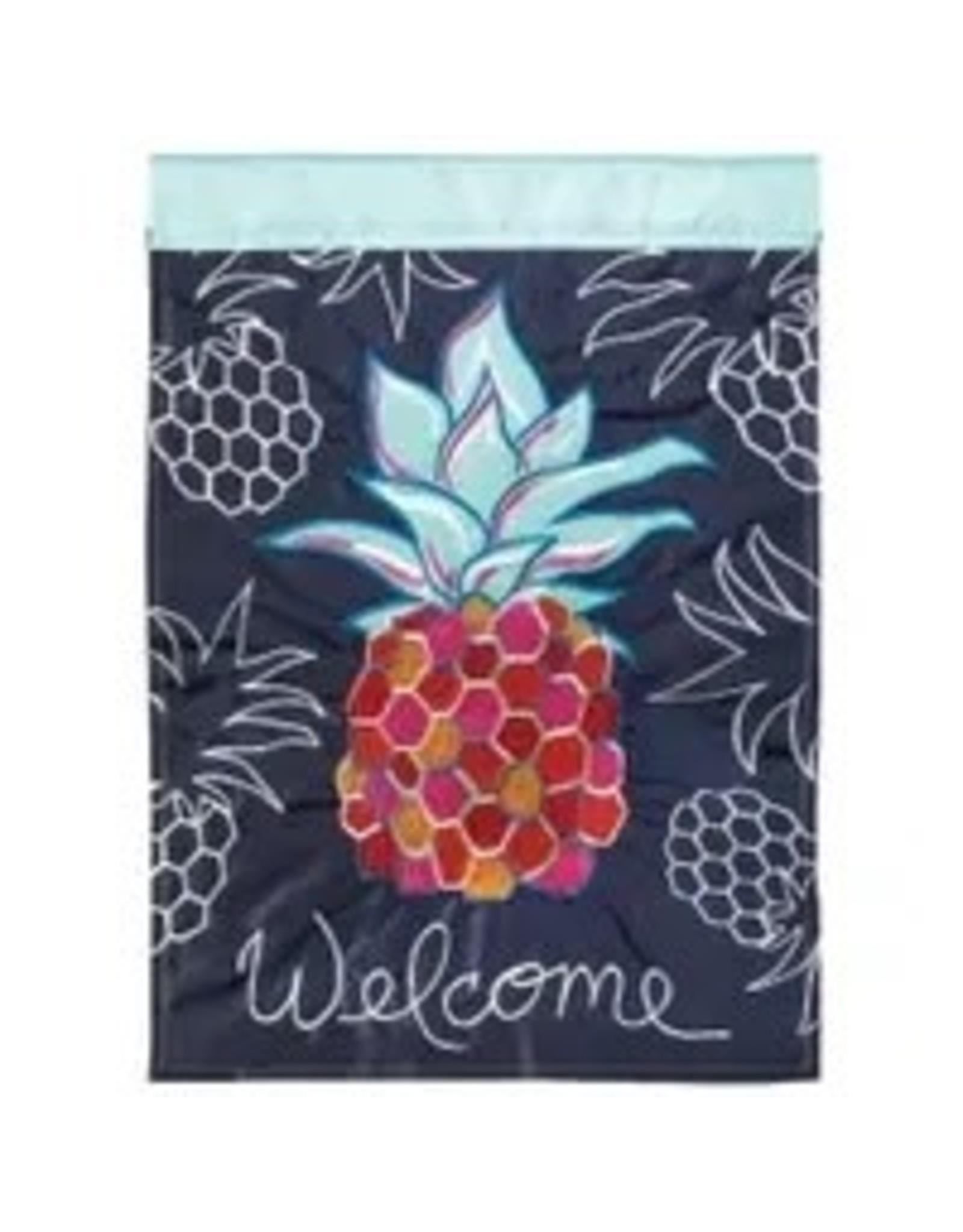 Magnolia Garden Flag Company Whimsy Pineapple House Flag