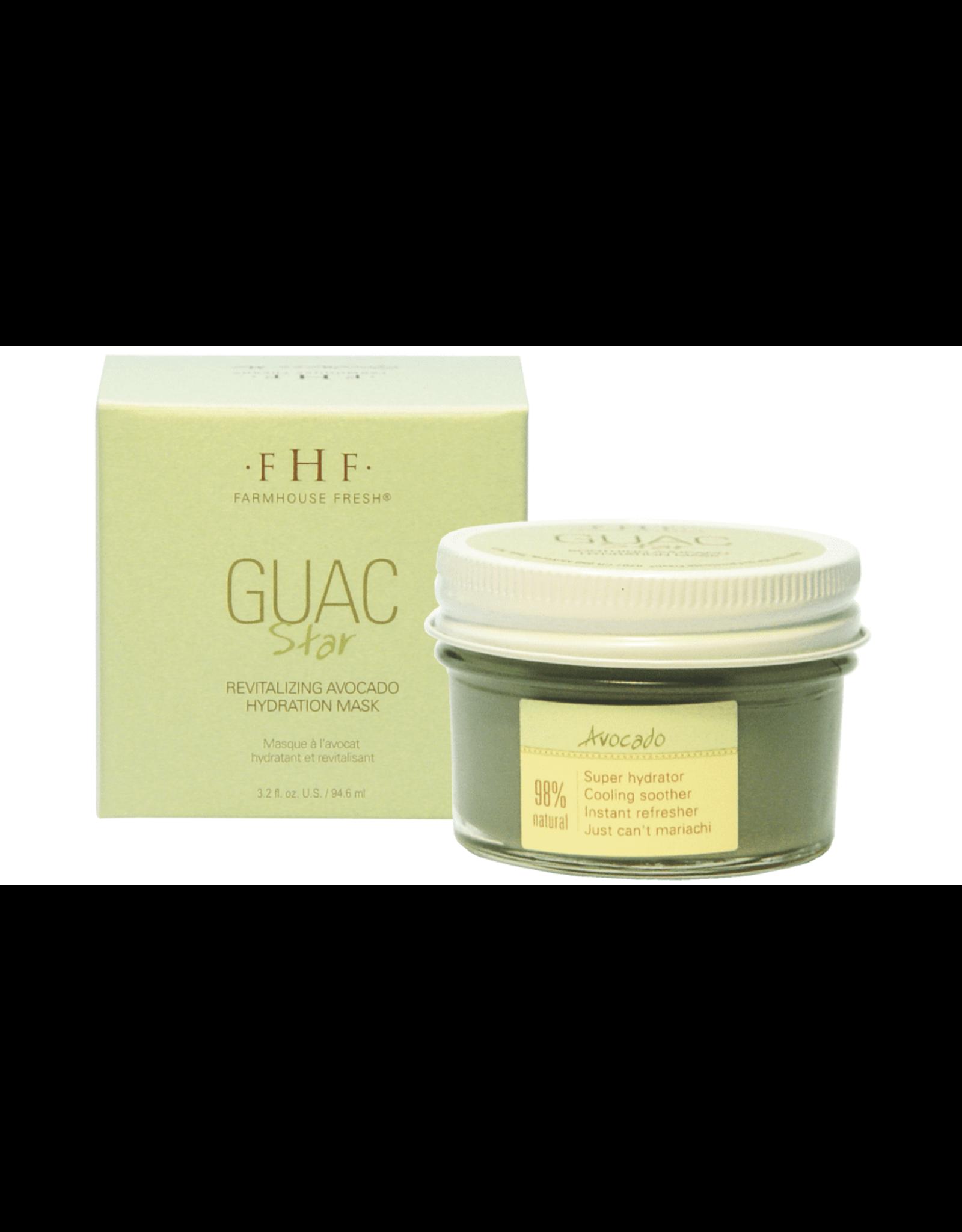 Farmhouse Fresh Guac Star® Soothing Avocado Hydration Mask 3oz