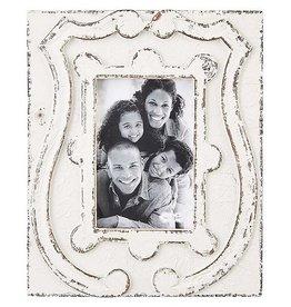Mudpie 5X7 Antiqued Crest Frame