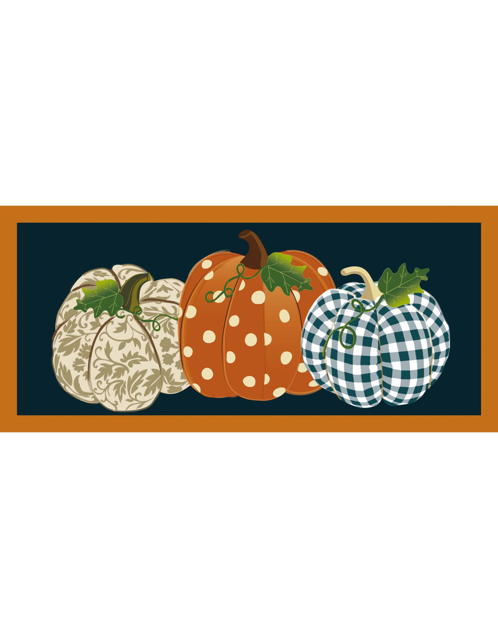 Evergreen Enterprises Patterned Pumpkins Sassafras Switch Mat