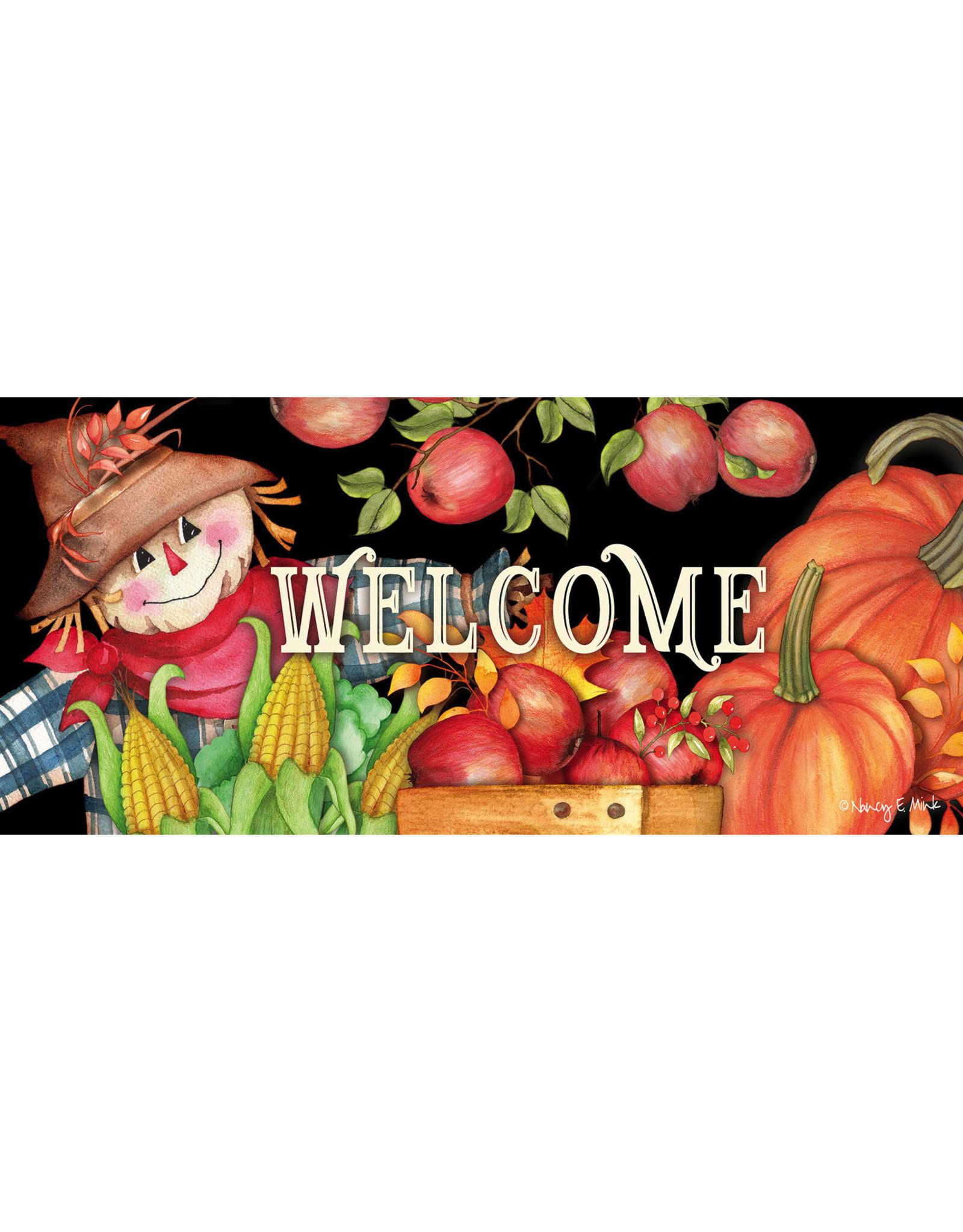Evergreen Enterprises Harvest Scarecrow Sassafras Switch Mat
