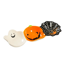 Evergreen Enterprises Ceramic Halloween Bowl Trio