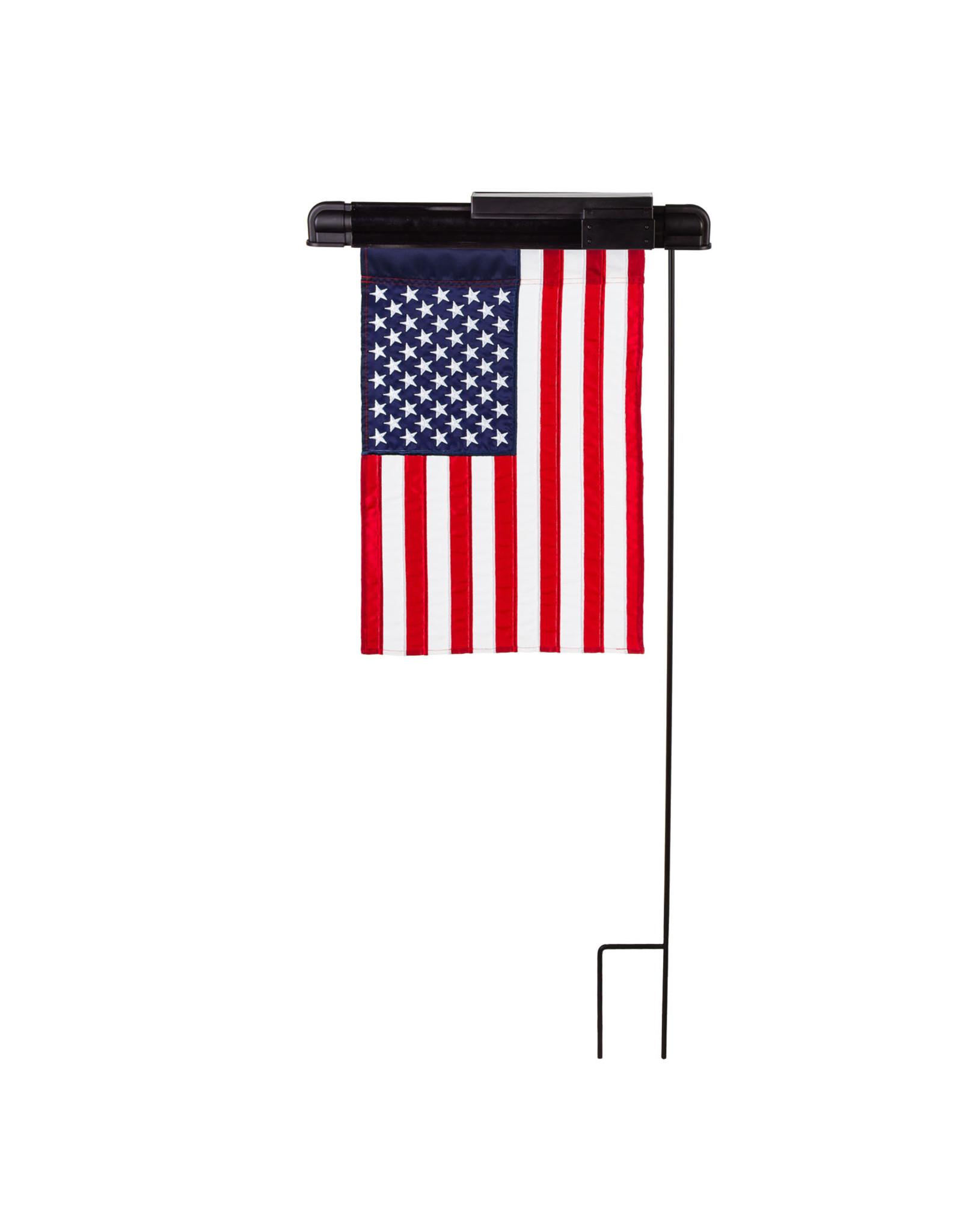 Evergreen Enterprises Solar Light for Garden Flag