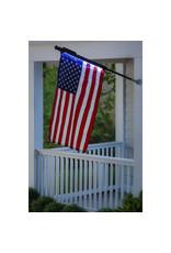 Evergreen Enterprises Solar Light for House Flag