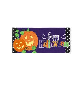 Evergreen Enterprises Halloween Jack-O-Lanterns Sassafras Switch Mat