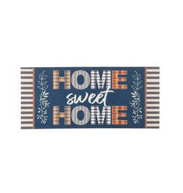 Evergreen Enterprises Home Sweet Home Plaid Sassafras Switch Mat