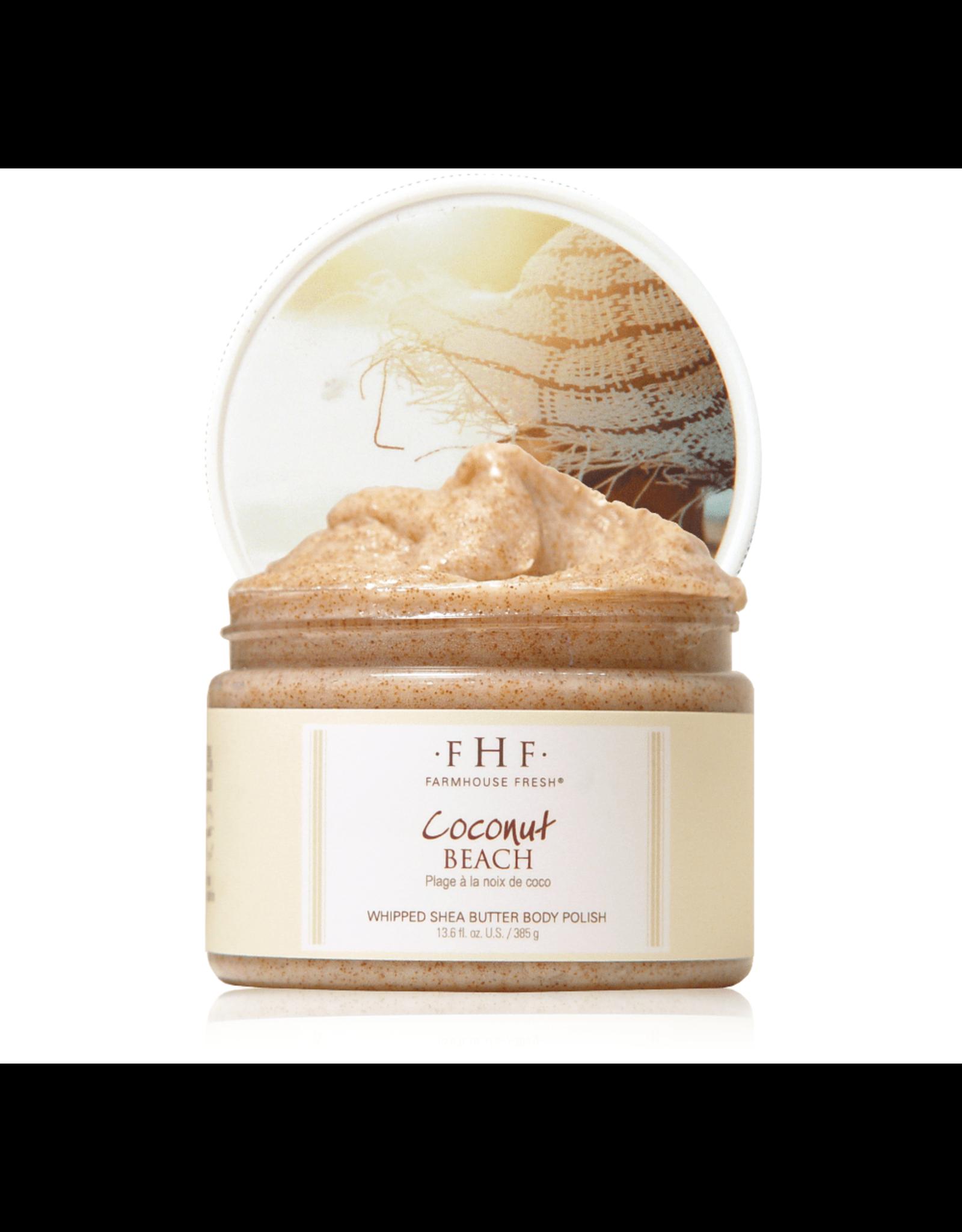 Farmhouse Fresh Coconut Beach® Whipped Shea Butter Body Polish 12oz