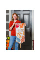 Evergreen Enterprises Patterned Leaves Everlasting Impressions Textile Decor