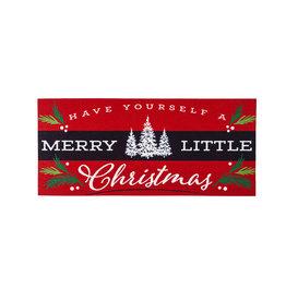 Evergreen Enterprises Merry Little Christmas Sassafras Switch Mat