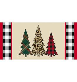 Evergreen Enterprises Mixed Print Christmas Trees Sassafras Switch Mat