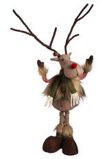 Evergreen Enterprises Reindeer Posable Plush Décor
