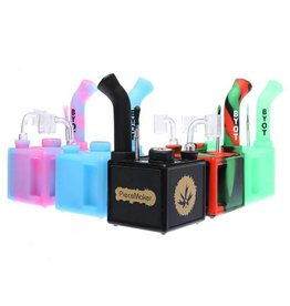 PieceMaker Silicone Square Dab Rig