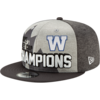 New Era 107th Grey Cup Blue Bombers Champions Hat