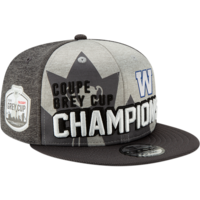 107th Grey Cup Blue Bombers Champions Hat