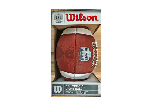 Wilson Grey Cup Football With Score