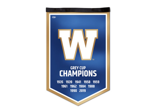 The Sports Vault Grey Cup Champs Victory Banner