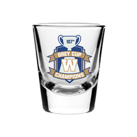 Grey Cup Champs Shot Glass
