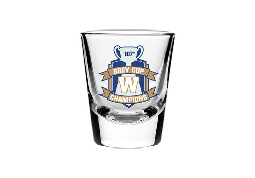 The Sports Vault Grey Cup Champs Shot Glass
